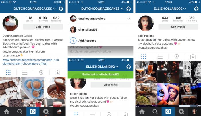 Instagram Online Account – Screenshot