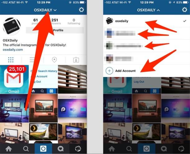 Creating multiple accounts – Instagram Accounts