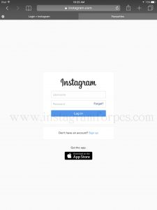 Instagram for iPad