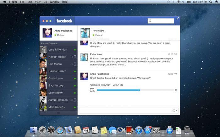 Facebook Messenger for PC
