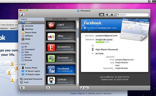 1Password for Mac PC