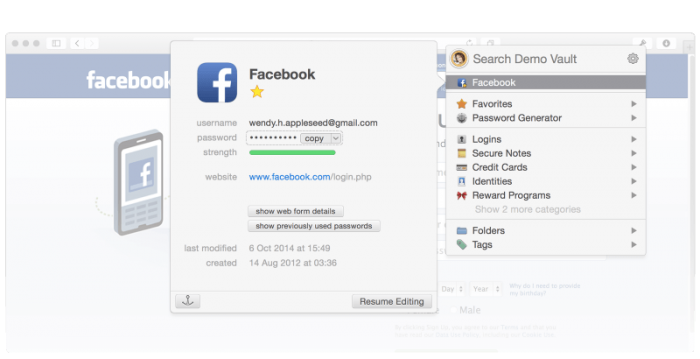 1Password for Mac PC