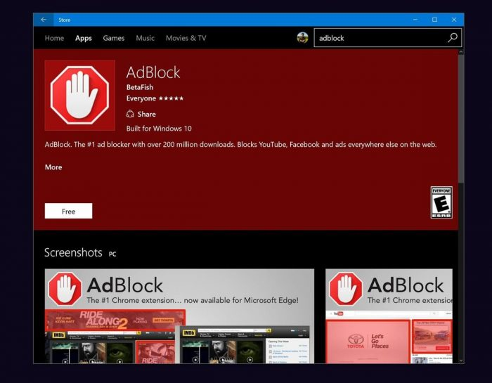 AdBlock for PC