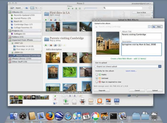 Picasa for PC