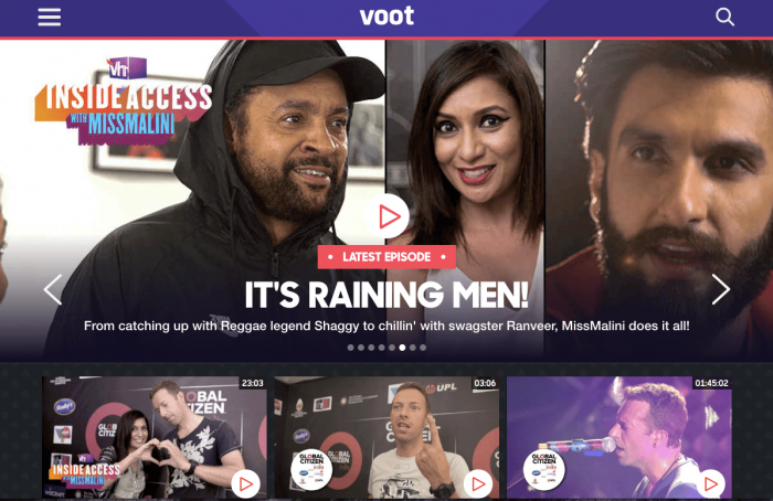 Voot for PC