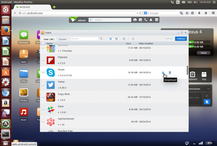AirDroid for PC